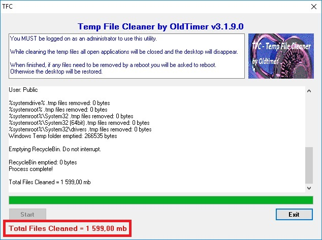 TFC - temp file cleaner 4