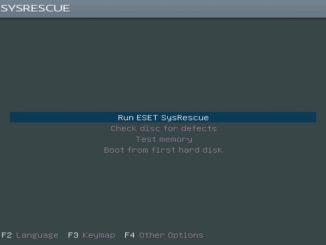 ESET SysRescue Live 03