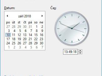 Jak nastavit čas na počítači s Windows 10 - 5
