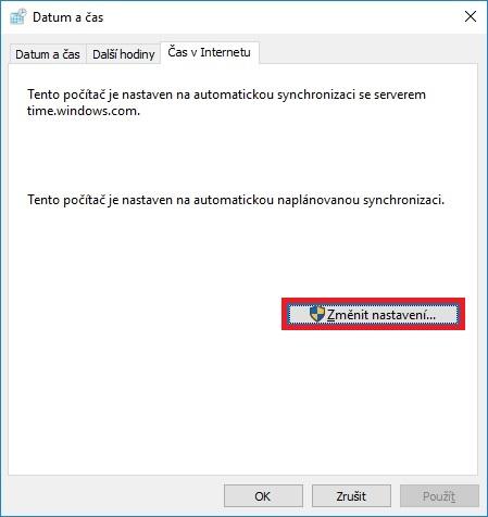 Jak nastavit čas na počítači s Windows 10 - 6