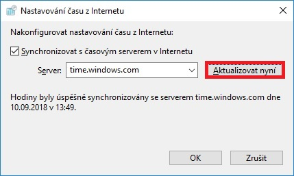 Jak nastavit čas na počítači s Windows 10 - 7
