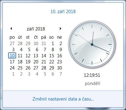 Jak nastavit čas na počítači s Windows 7