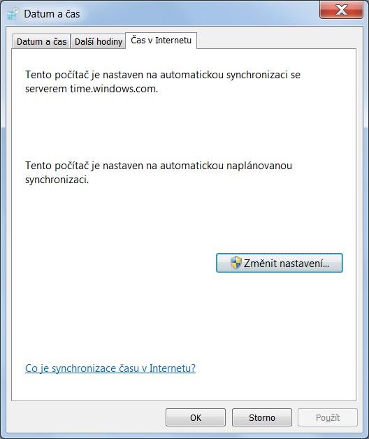 Jak nastavit čas na počítači s Windows 7 – 4