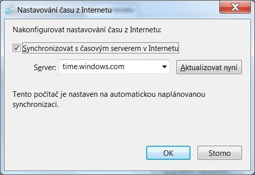 Jak nastavit čas na počítači s Windows 7 - 5