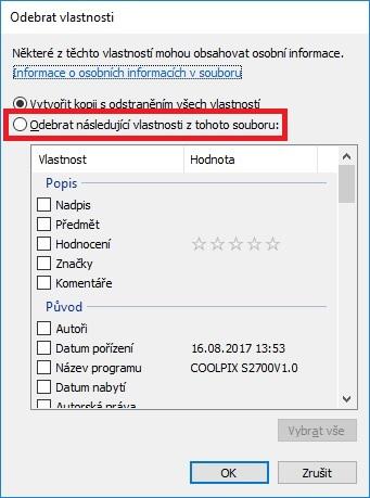 Vlastnosti souboru ve Windows 10 - 5