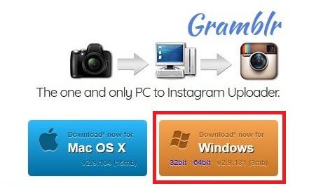Gramblr - jak nahrát fotku a video na Instagram z pc 01