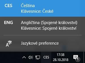 Jak změnit jazyk na klávesnici ve Windows 10 - 2