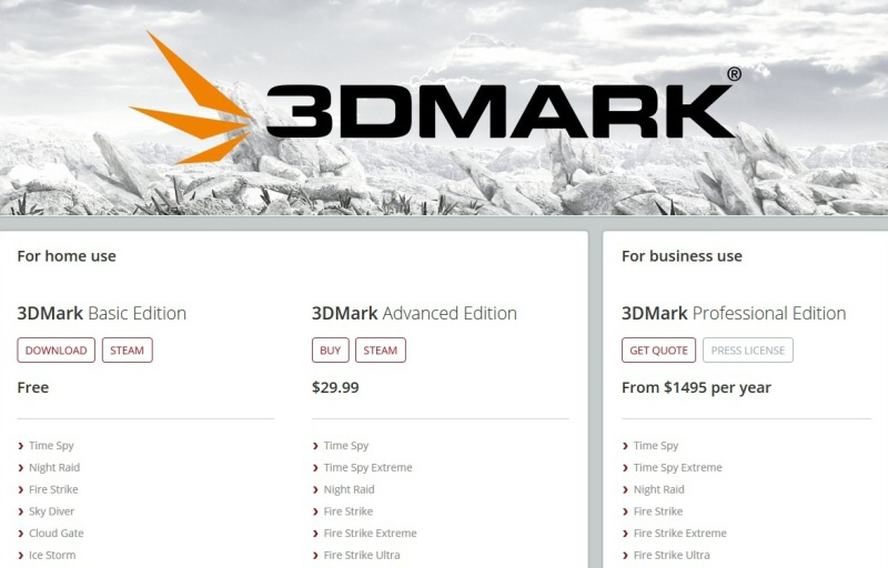 3D mark basic edition 1