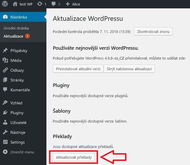 Jak založit blog WordPress 4