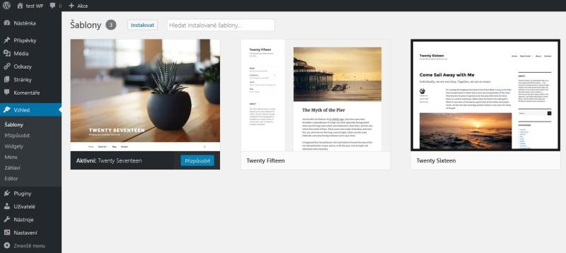 Jak založit blog WordPress 7