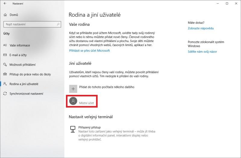 Jak se přihlásit jako administrátor Windows 10 - 3