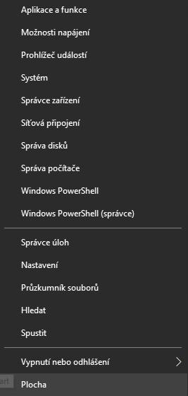 Nabídka Start Windows 10 - rozšířené možnosti
