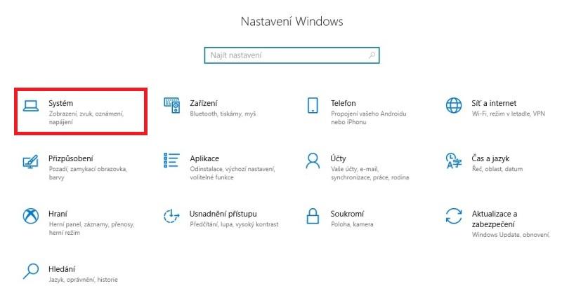 Využití úložiště - co zabírá nejvíc místa na disku ve Windows 10 - 1