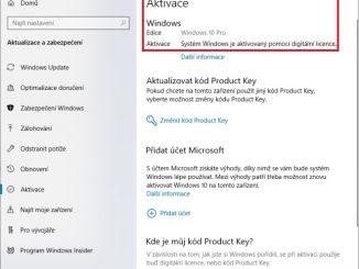 aktivace windows 10 - 3