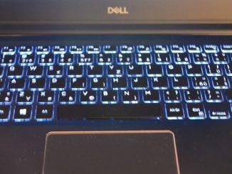 podsvícení klávesnice notebook dell vostro 5471