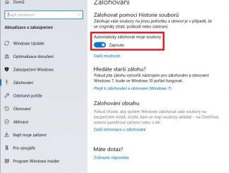 Zálohování Windows 10 - 10