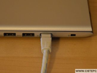 Jak připojit notebook k internetu kabelem