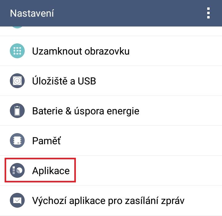Jak smazat cache v telefonu android 2