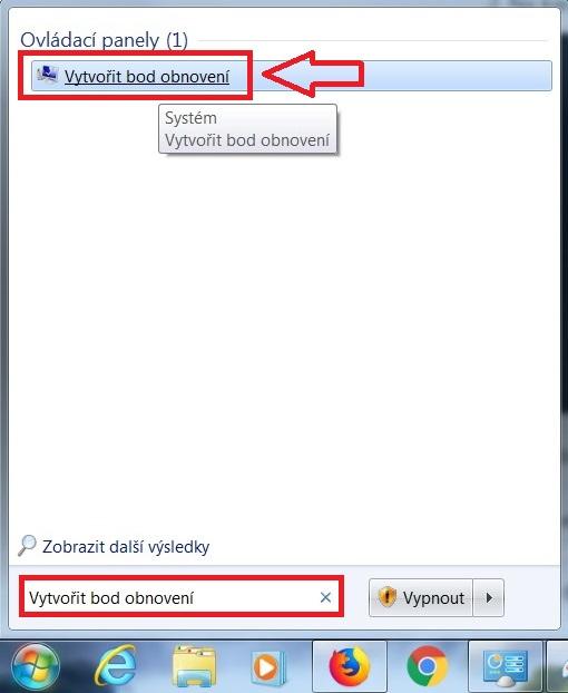 Jak vytvořit bod obnovení ve Windows 7 - 1