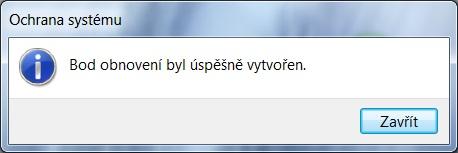 Jak vytvořit bod obnovení ve Windows 7 - 5