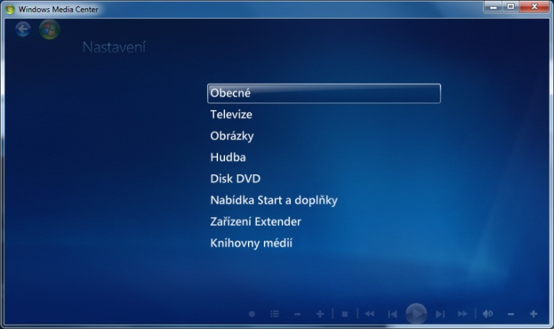 Windows Media center 05
