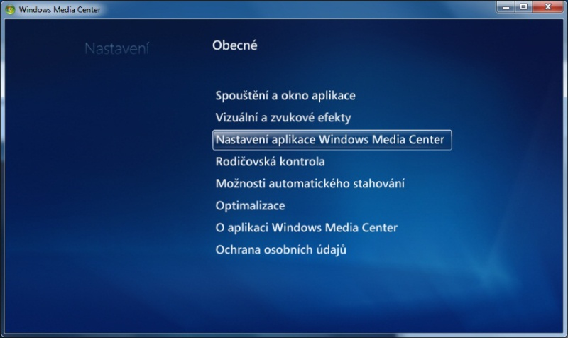 Windows Media center 06