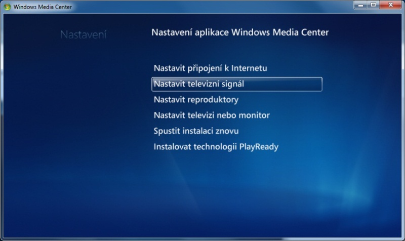 Windows Media center 07
