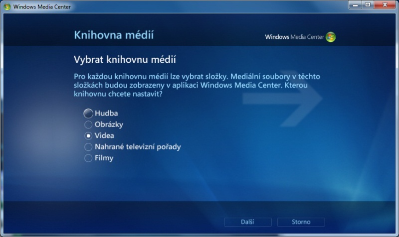 Windows Media center 11