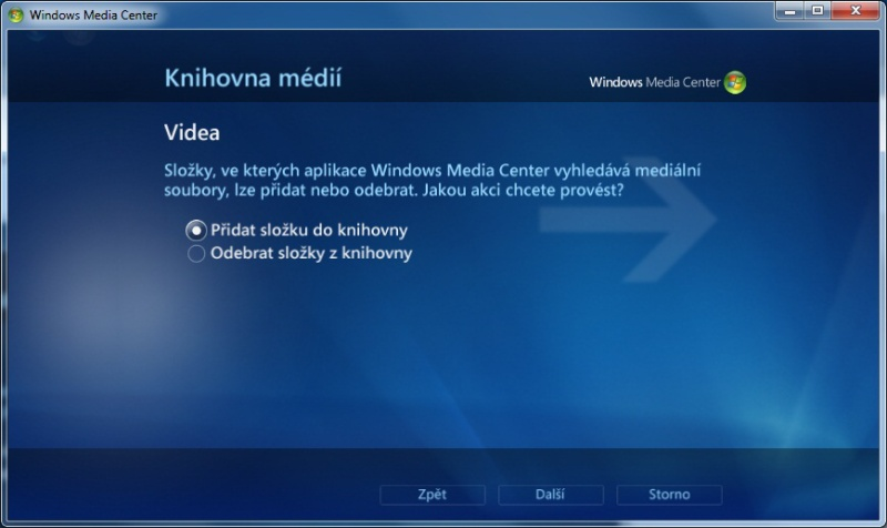 Windows Media center 12