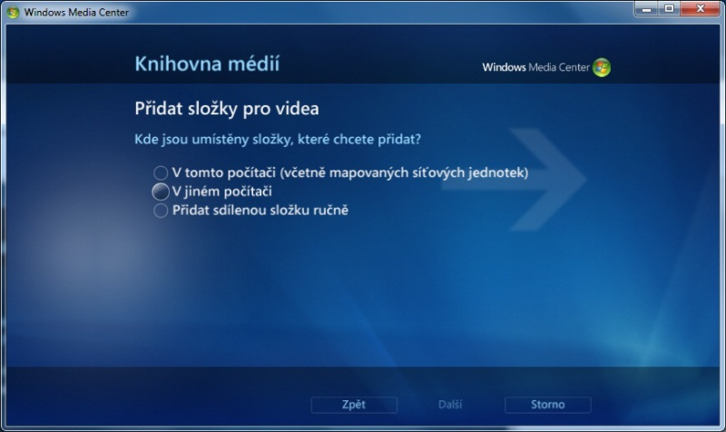 Windows Media center 13