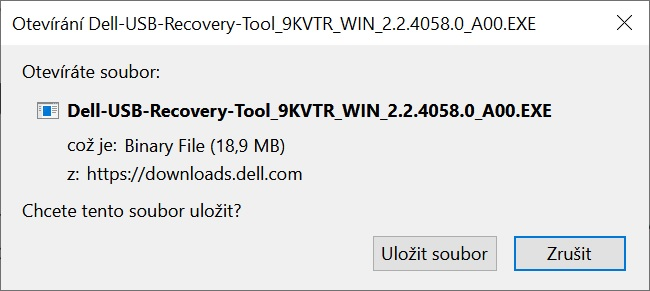 Dell OS recovery tool 1