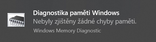 Diagnostika paměti ve Windows 10 - 3
