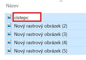Hromadné přejmenování souborů ve Windows 10 - 3