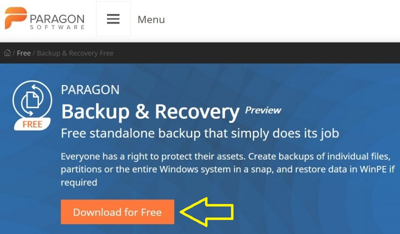 Paragon Backup Recovery Software 02