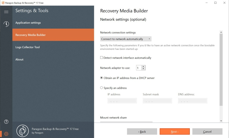 Paragon Backup Recovery Software 12