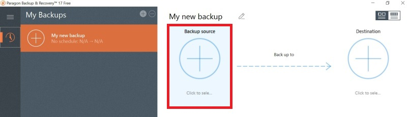 Paragon Backup Recovery Software 15