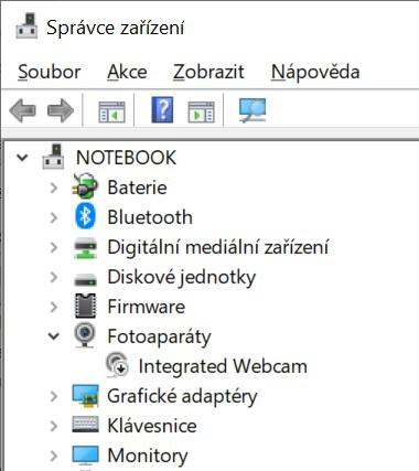 Jak vypnout webkameru na notebooku ve Windows 10 - 4