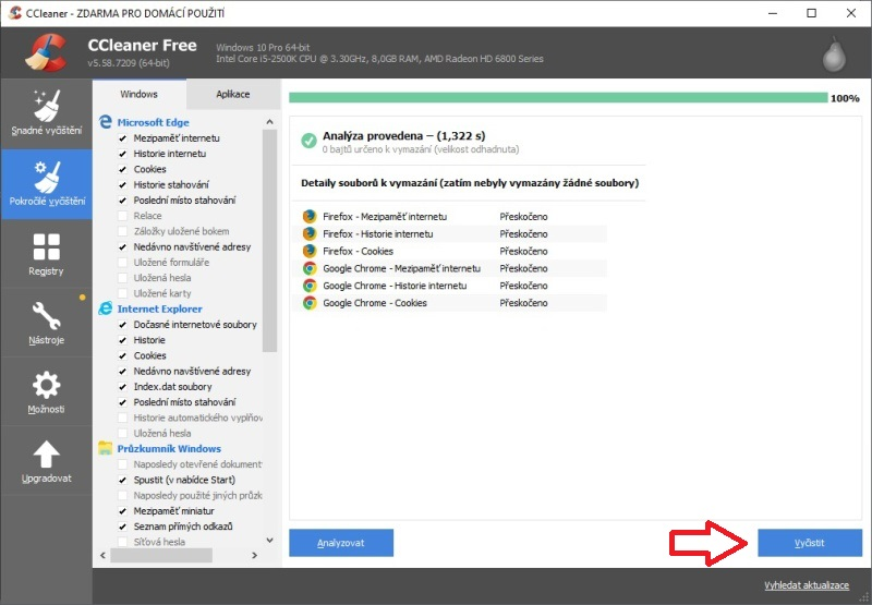 ccleaner 5.58 - 5