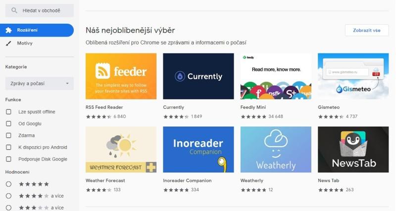 Internetový obchod Chrome 3