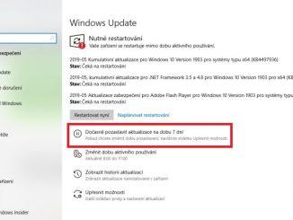 Jak dočasně vypnout automatické aktualizace Windows 10