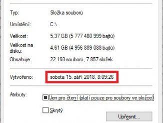 Jak zjistit datum instalace Windows