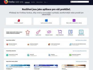 Mozilla Firefox doplňky 4