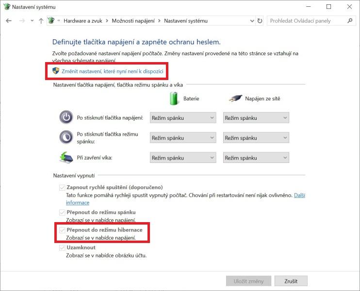 Hibernace Windows 10 - 3