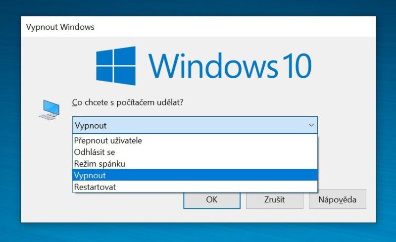 Hibernace Windows 10 - 6
