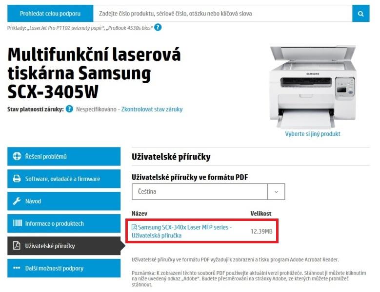 připojení tiskárny k počítači 01