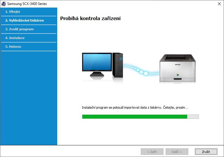 Připojení tiskárny Samsung přes wifi - 04