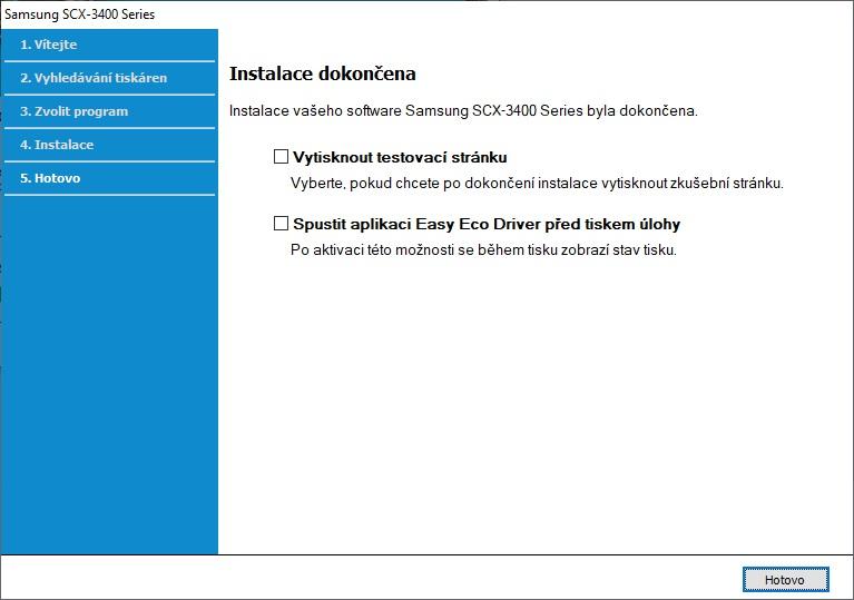 Připojení tiskárny Samsung přes wifi - 12