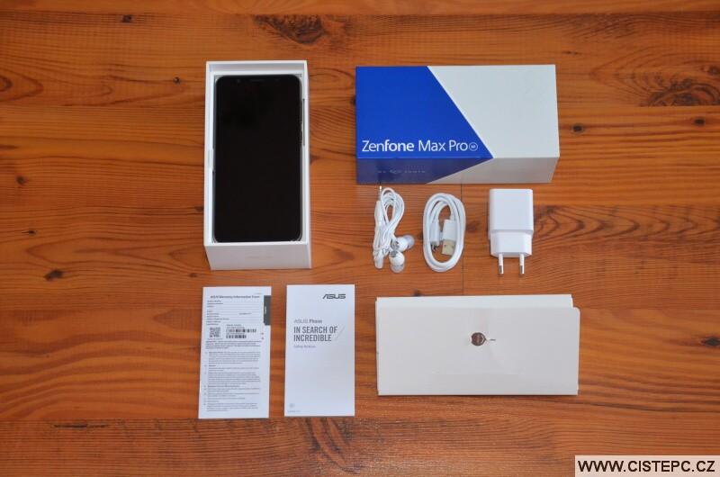 Asus Zenfone Max Pro M1 - balení