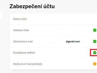 Dvoufázové ověřování seznam e-mail 12