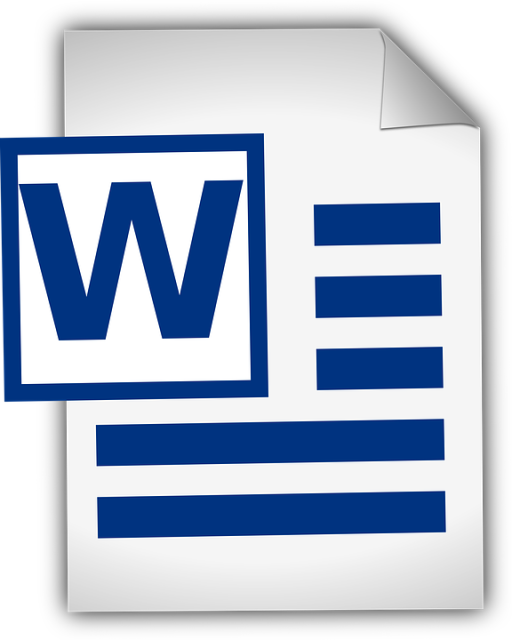 Microsoft Word dokument